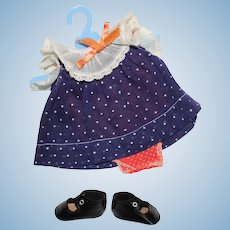 Effanbee Patsy, Jr. Size Dress and shoes.