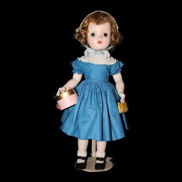 """18"""" 1954 Madame Alexander Sweet Violet, Cissy Face."""