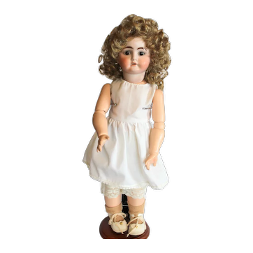 """16"""" Kestner Bisque Doll, Mold #1900, Jtd Replaced Body."""