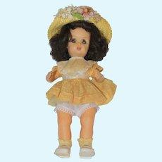 A/O Tiny Terri Lee with Rare Dark Hair.