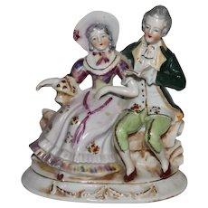 Vintage Porcelain Figure Marked Made in Occupied Japan