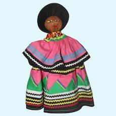 "9"" Native American Indian Seminole Doll."