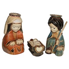 MIB Rinconada Nativity Ltd. Ed.  Figurines.