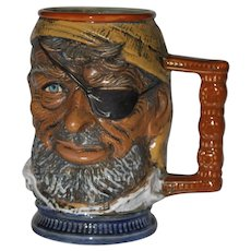RIP Vietata S. Orvis Hand Painted Pirate Beer Stein Made In Italy