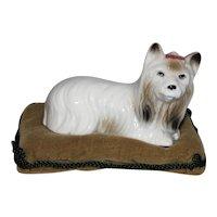 Vintage Lenwile China Ardalt Verithin Puppy Dog Figurine