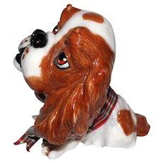 "Cavalier King Charles Spaniel Dog Figurine, ""Trudi"""