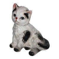 Vintage Porcelain Kitty Cat Figurine