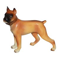Vintage Napco Boxer Dog Figurine.