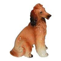 Vintage Napcoware Ceramic Afghan Hound Dog Figurine.