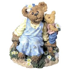 Boyds Bears MOMMA McBRUIN with Munchkin ~ Mother's Day Event