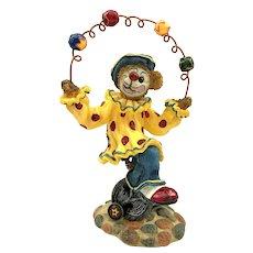 Boyds Bears Bearstone GIZMOE - LIFE'S A JUGGLE Figurine