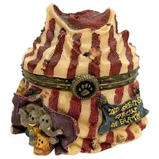 Boyds Gizmoes Big Top Circus with Giggle McNibble Treasure Box Special Edition Piece