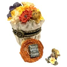 Boyds Treasure Box FLORAS BLOOMIN' BUNCH Mother's Day Special Edition Piece 82510
