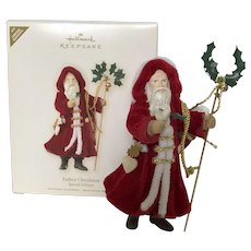 "Hallmark Keepsake Special Edition Limited Edition COLORWAY 2007 ""Father Christmas"""