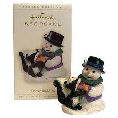 "Hallmark Keepsake Series Edition 2006 ""Snow Buddies"", the 9th in the Series"