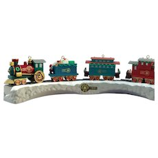 Hallmark 1991 Claus & Co., RR Train and Trestle