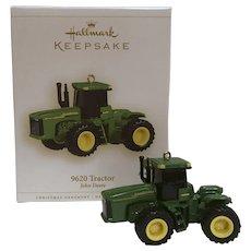 "Hallmark Keepsake Ornament 2006 ""9620 TRACTOR"", a John Deere Ornament"