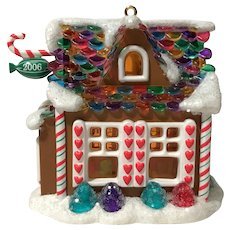 "2006 Hallmark ""Sweet Shop"" in Noelville Keepsake Ornament"