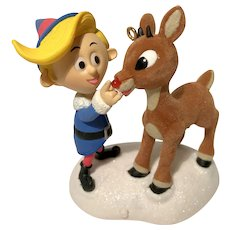 "2008 Hallmark ""A Couple of Misfits"" MAGIC Rudolph Keepsake Ornament"