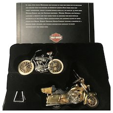 "2003 Hallmark ""100th Anniversary Edition"" Harley-Davidson Keepsake Ornaments"