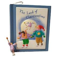 """2001 Hallmark """"The Land of Christmastime"""" Keepsake Ornament"""