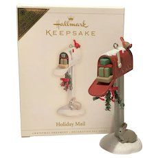 "2006 Hallmark ""Holiday Mail"" VIP Gift Keepsake Ornament"