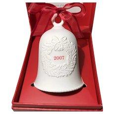 2007 Hallmark Porcelain Dated Bell