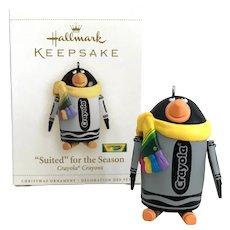 2006 Hallmark SUITED for the SEASON Crayola Keepsake Ornament