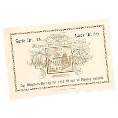1902 European Souvenir Postcard Album ~ Germany, Switzerland, France