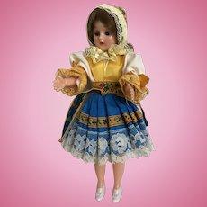 "Vintage Souvenir 8"" Czech Doll with Folk Costume"