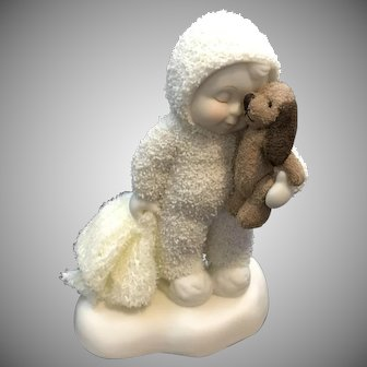 "Dept 56 Snowbabies … 2005 ""Bedtime Buddies"" Figurine [56.69457]"