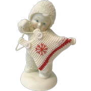 """Dept 56 Snowbabies """"And Shoes to Match?"""" Figurine [56.69614]"""