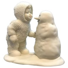 Why Don't You Talk to Me ~ Dept 56 Snowbaby Snowman