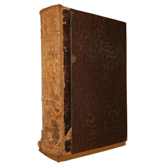 Half Leather Bound Book Cassell's Popular Natural History Volumes 1 & 2