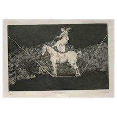Una Reïna del Circo by Francisco José de Goya y Lucientes