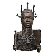 Ancient Bust of Yoruba Woman, Nigeria