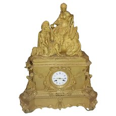 Antique 19th Century Leroy Table Clock