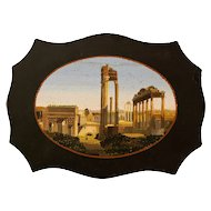 Paperweight with Roman Forum View