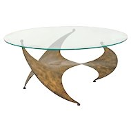 Vintage Table, Italian design and production, 1970s