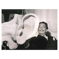 Salvador Dali: The Famous Surrealist Painter and the Replica of the Ear