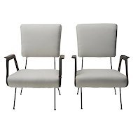 Vintage Pair of Armchairs -Italian Production