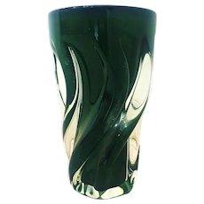 Vintage Murano Vase by Seguso, 1950s