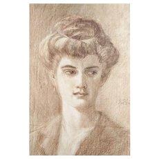 Egon Schiele (After), Original Lithograph Melanie Schiele