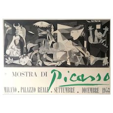 Picasso Exhibition Poster - Guernica