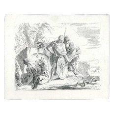 L'Astrologo e il Giovane Soldato by Giambattista Tiepolo