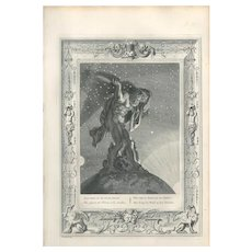 Original Ancient French Etching
