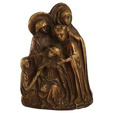 Bronze sculpture late 18th century