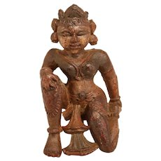 Wooden Temple  Sculpture Thailand 19th Century
