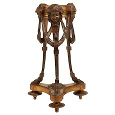 Bronze Sculptural Stand From The 19th Century