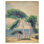 Impressionist Mediterranean See View